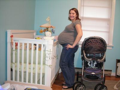 37 week belly